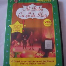 ALI BABA SI CEI 40 DE HOTI, VCD ! VERSIUNEA DUBLATA IN LIMBA ROMANA ! - Film animatie, DVD