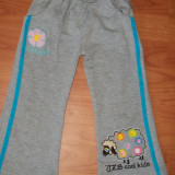 Pantalonasi trening fetite 2-3ani, Culoare: Gri