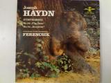 Disc vinil vinyl pick-up JOSEPH HAYDN Symphonies no84 The Bear no94 Surprise FERENCSIK rar vechi colectie