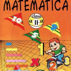 MATEMATICA MANUAL PT CLASA A II A de AURELIA ARGHIRESCU ED. CARMINIS - Manual scolar, Clasa 2