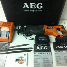AEG BUS 18 ,, Pndular sabie cu acumulator 3,0 Ah din 2009 ''