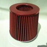 filtru sport de culoare rosie cu filtrare dubla  de sunet