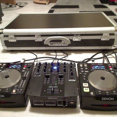 PLAYERE DENON DN - S 1200 MIXER DENON DN - X 120 CASE - Console DJ Altele