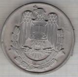 C75 Medalie Colegiul National de Aparare -Romania -Fondat 1992-(Proba) -marime circa 64 mm -greutate aprox. 72 gr -starea care se vede