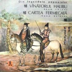 VANATORUL HALIBU si CARTEA FERMECATA (DISC VINIL) - Muzica pentru copii electrecord