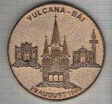 C114 Medalie Centrul International Ecumenic Romania -Vulcana-Bai-29 aug 1998 -marime circa 61 mm -greutate aprox. 55 gr -starea care se vede