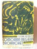 """Carte veche: """"COMOARA REGELUI DROMICHET"""", Ed. II, Cezar Petrescu, interbelica, Alta editura"""