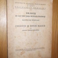 CREDINTE SI RITURI MAGICE - Stefania C-Golopentia - DRAGUS, Tara Oltului