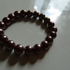 Bratara de perlute, sidef, pe elastic, marimea universala, imitatie perle - Bratara perle