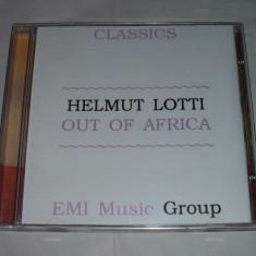 Vand cd original HELMUT LOTTI-Out of Africa - Muzica Clasica emi records