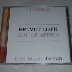 Vand cd original HELMUT LOTTI-Out of Africa - Muzica Clasica emi records