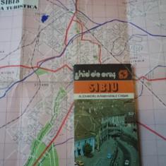 Sibiu Ghid de oras ilustrat harta carte hobby turism calatorie - Ghid de calatorie