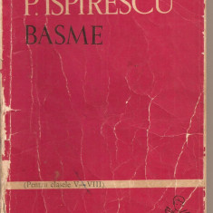 (C2151) BASME DE PETRE ISPIRESCU, EDITURA TINERETULUI, BUCURESTI, 1963 - Carte Basme