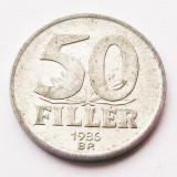 UNGARIA 50 FILLER 1986 **, Europa