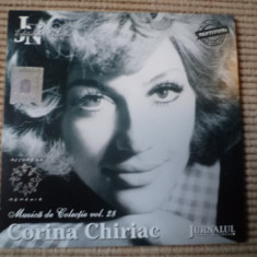 Corina chiriac cd disc muzica de colectie jurnalul national muzica pop usoara