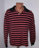 Cumpara ieftin Bluza barbati BOGARI designed in ITALY marime M, Bumbac, Rosu