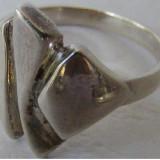 Inel vechi din argint (106) - de colectie - Inel argint