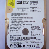HARD DISK LEPTOP, WESTERN DIGITAL 60 GB . DEFECT . - HDD laptop