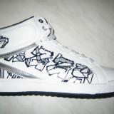 Pantofi sport baieti-fete WINK; cod HS107-2(alb);marime: 36-41