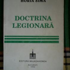 Doctrina legionara-Horia Sima - Istorie