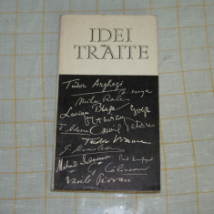 Geo Serban - Idei traite - Editura Tineretului - 1968 - Carte Proverbe si maxime