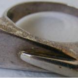 Inel vechi din argint (109) - de colectie - Inel argint
