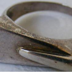 Inel vechi din argint (109) - de colectie