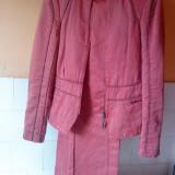Costum superb KENSOL dama - Costum dama, Marime: 40, Culoare: Grena, Costum cu pantaloni
