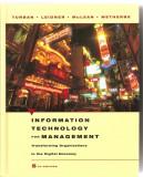 (C1601) INFORMATION TECHNOLOGY FOR MANAGEMENT; tehnologia informatiei pentru management, LEIDNER, MCLEAN, WETHERBE, JOHN WILEY, INC