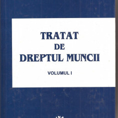 (C1599) TRATAT DE DREPTUL MUNCII DE ION TRAIAN STEFANESCU, EDITURA LUMINA LEX, BUCURESTI, 2003, VOLUMUL I