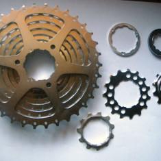 Shimano HG CS-M580 pinion - Piesa bicicleta Shimano, Pinioane filet/caseta