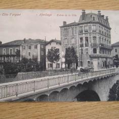 BRAB3 - FRANTA - CIRCULATA LA 1907, Printata