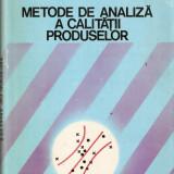 Metode de analiza a calitatii produselor