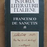 Francesco de Sanctis - Istoria literaturii italiene