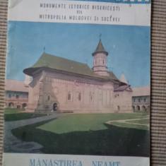 manastirea neamt monumente istorice bisericesti mitropolia MOLDOVEI SI SUCEVEI