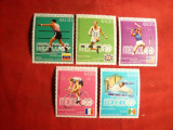 Serie mica Sport- Olimpiada Mexico 1968 Paraguay ,5 val.