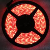 CS117 Banda smd 3528 led rosie, 5 m, 600 leduri, rezistenta la apa, lumini masina, auto tunning - Banda LED
