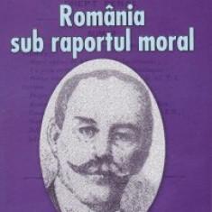 Rommania sub raportul moral-studii juridice si istorice - I . Tanoviceanu