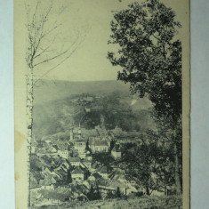 SIGHISOARA - SCHAESSBURG - SEGESVAR - VEDERE GENERALA - INCEPUTUL ANILOR 1900