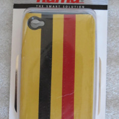 1278plu Toc telefon mobil husa Hama cover Stripe pt Apple iPhone 4 - Husa Telefon Apple, iPhone 4/4S