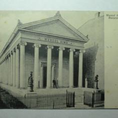 BUCURESTI - MUZEUL SIMU - CONSTRUIT DE ACADEMICIANUL SIMU INTRE 1907-1910 IN ZONA MAG.EVA, DONAT STATULUI IN 1927, DEMOLAT DE COMUNISTI IN 1964 - RARA