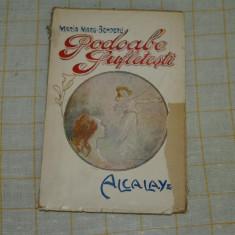 Podoabe sufletesti - Schite - Maria Margareta Benderli - Editura ALcalay - 1920 - Carte veche