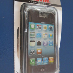 1302plu Cover Ice Case Apple iPhone 4 toc telefon husa transparenta Hama - Husa Telefon Apple, iPhone 4/4S