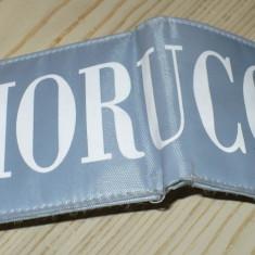 Portofel dama FIORUCCI, material, original, stare foarte buna, made in Italy - MODEL CLASIC!!!, Khaki, Cu inchizatoare
