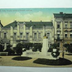 ARAD - PARCUL KOSSUTH - STATUIA CSIKY GERGELY- ANUL 1916