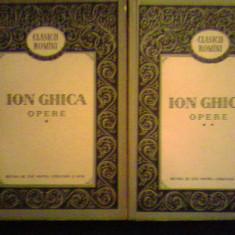 Opere I-II - Ion Ghica - Roman, Anul publicarii: 1956