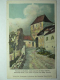 1 - SIGHISOARA - SCHASSBURG - SEGESVAR - TURNUL CROITORILOR - DUPA ACUARELA