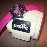 Ceas Oxette cu curea din silicon roz - Ceas dama, Otel, Analog