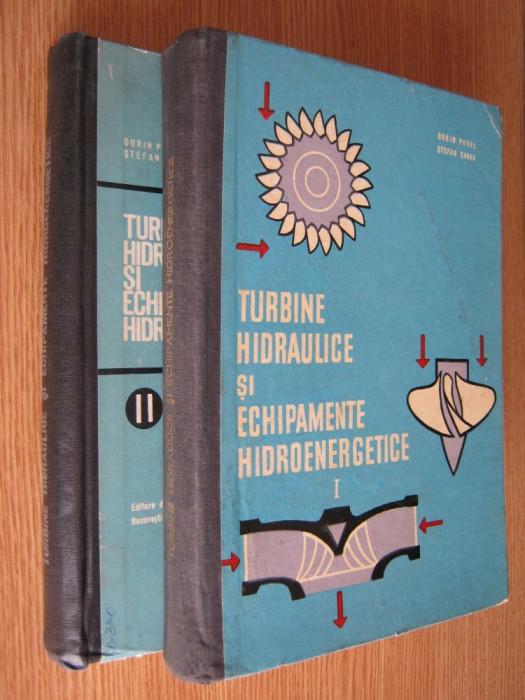 Turbine hidraulice si echipamente hidroenergetice - Dorin Pavel - 2 volume foto mare