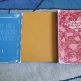 ISTORIA LITERATURII ROMANE VOL, 1, 2, 3 EDIT. ACADEMIEI - Istorie